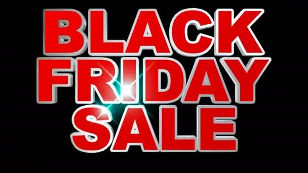 Animation zum Black Friday Sale