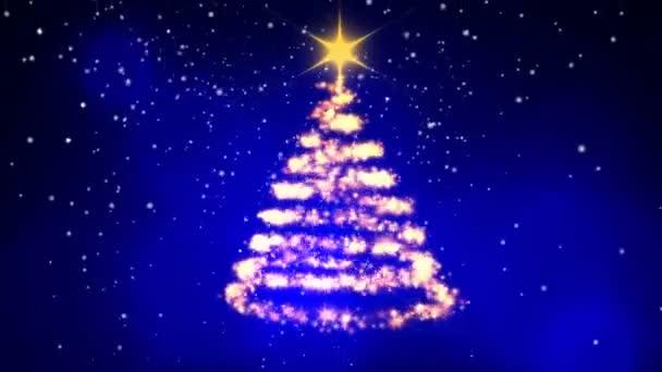 Kerstboom Animatie Stockvideo C Infocusvideo 176387878