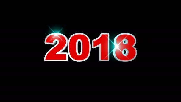 2018 Neujahr animation