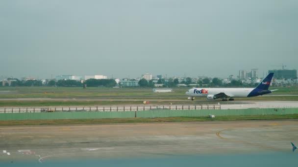 FedEx letadlo Air nákladní loď jízdy