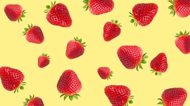 Abstraktní barevné ovoce animace