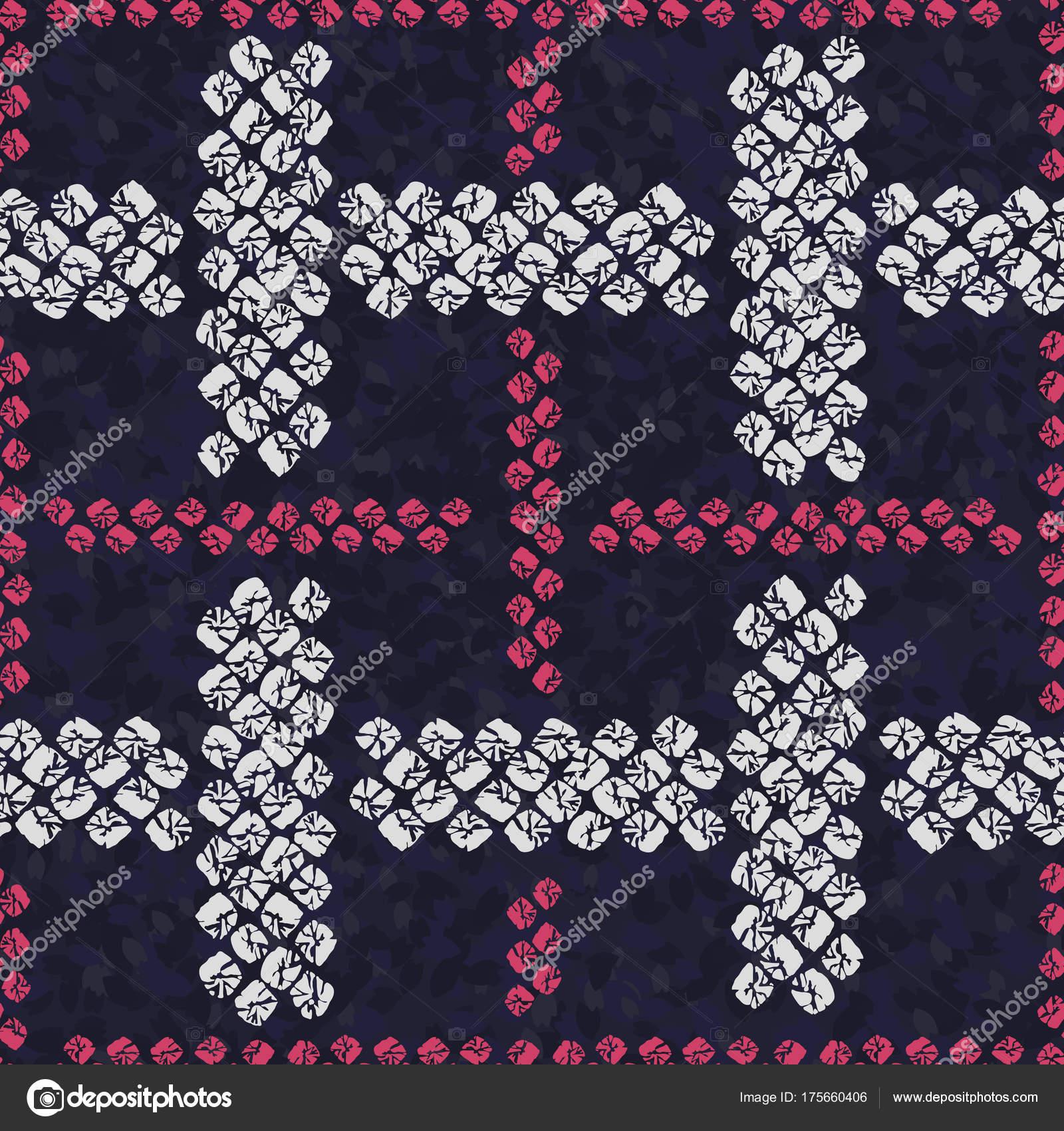 Ornamento del Japon. De patrones sin fisuras. Adorno tejido ...