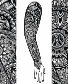Tetováló stílus kar