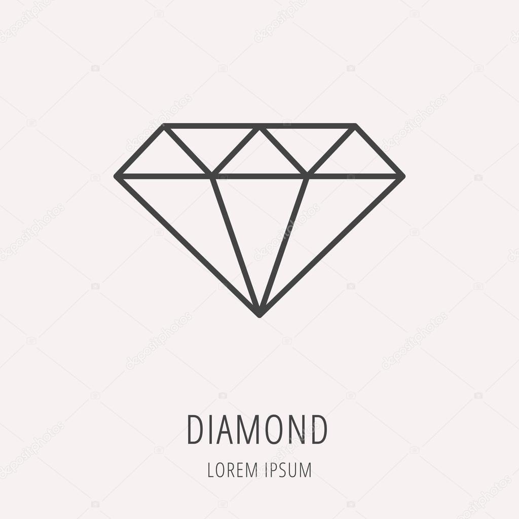 vector photo stock free logo and set jewellery royalty diamond design gold