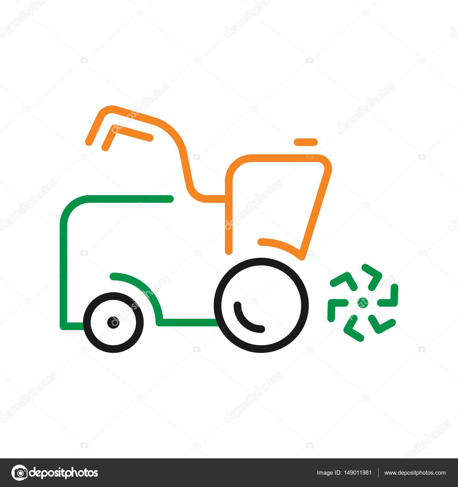 Vektor-einfaches Logo-Vorlage-Rasenmäher — Stockvektor © andrei45454 ...