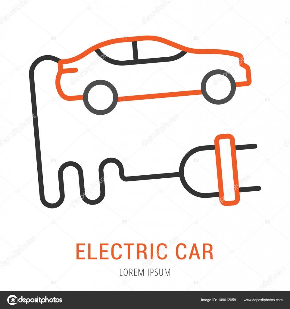 Dibujos Faciles De Electricista Vector Logo Simple Plantilla