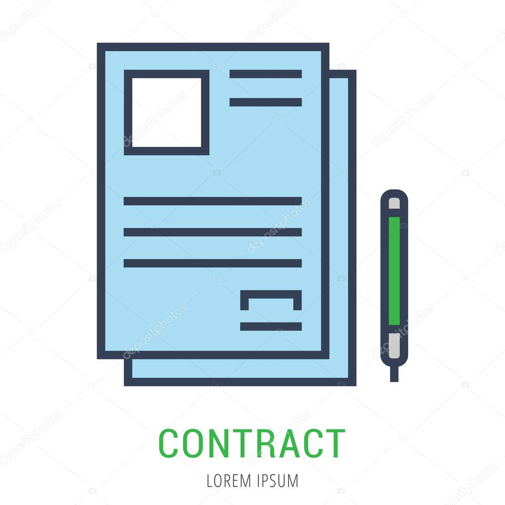 Fein Einfache Vertragsvorlagen Bilder - Beispiel Business Lebenslauf ...