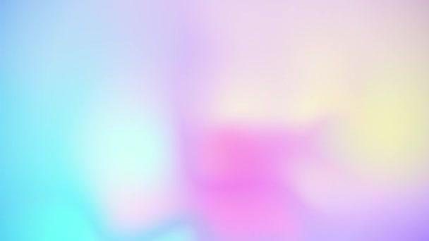 Měkké holografické úniky světla. Bezproblémové smyčky animovaného pozadí.