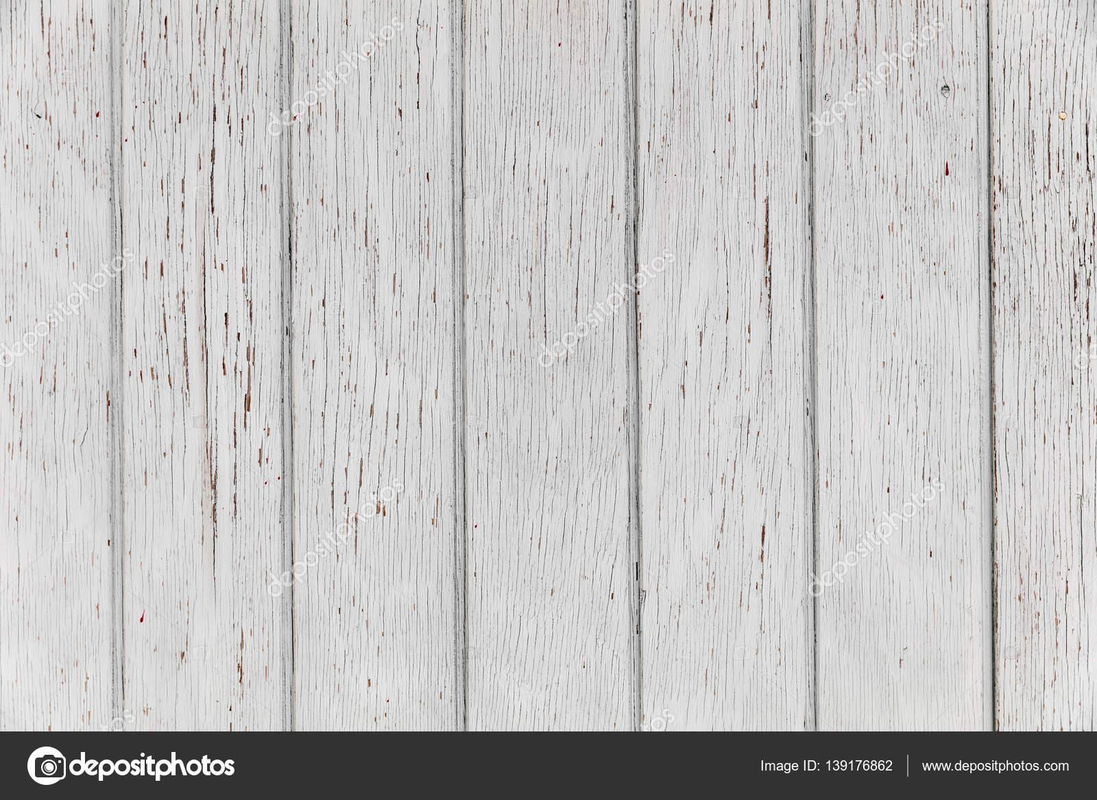 Pared de madera blanca tableros viejo blanco fondo - Perchas de madera blancas ...