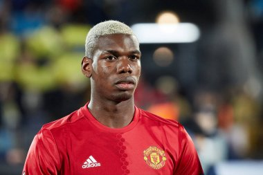 Paul Pogba before match