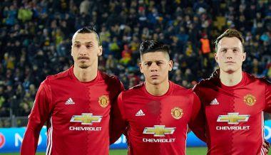 Primary Players (Zlatan Ibrahimovic, Marcos Rojo, Phil Jones)