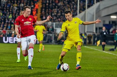 Philip Jones, Game moments in match 1/8 finals of the Europa League