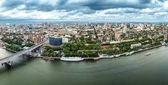 Fotografie Rostow am Don. Russland. Luftaufnahme, Panoramas der Stadt