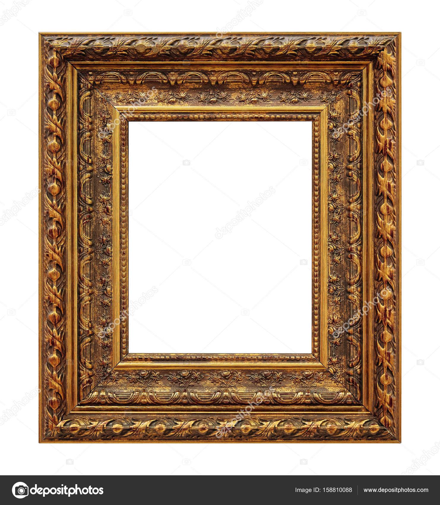 Rahmen im antiken Stil. Vintage Bilderrahmen — Stockfoto ...