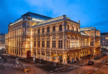Vienna State Opera. It is located in the centre of Vienna, Austria.