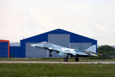 New Russian five generation's fighter SU 57 (T-50)