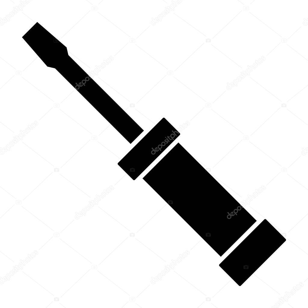 screwdriver icon vector