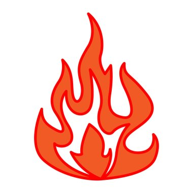 simple fire icon