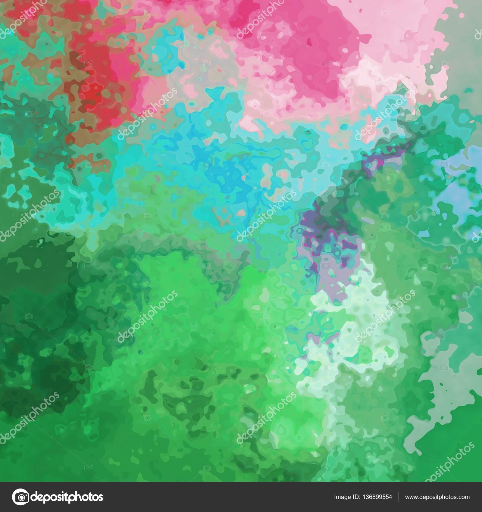 Absztrakt festett minta textúra háttér tavaszi zöld és rózsaszín pasztell  színek a fekete körvonalai - a modern festészet művészet– stock kép 57a586a7db
