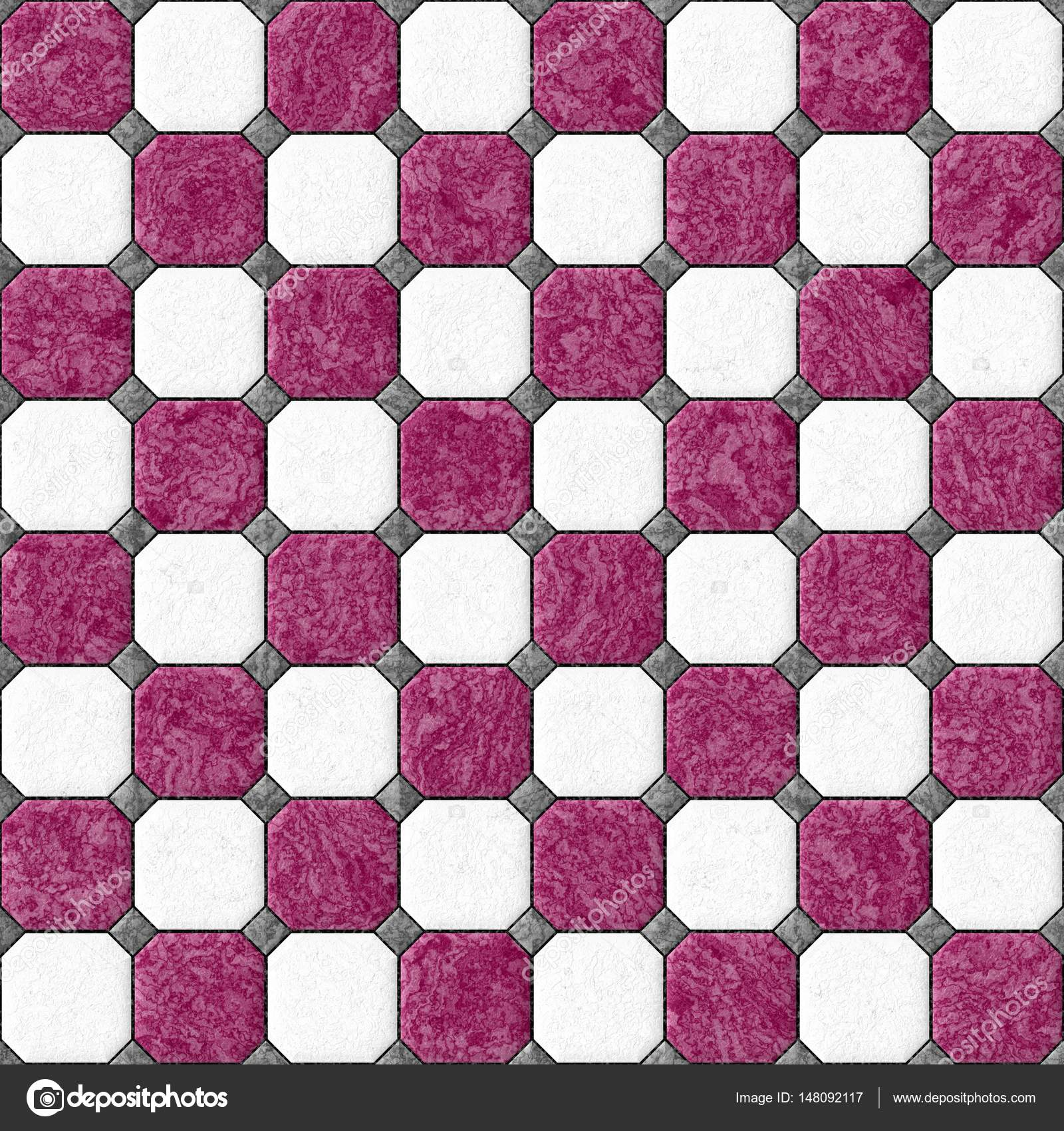 Marble square floor tiles with gray rhombs and black gap seamless marble square floor tiles with gray rhombs and black gap seamless pattern texture background white and hot pink color photo by ardely dailygadgetfo Image collections