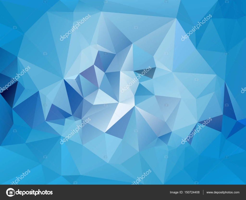vector abstract irregular polygon background with a triangle pattern in light sky blue color stock - Light Sky Blue Color