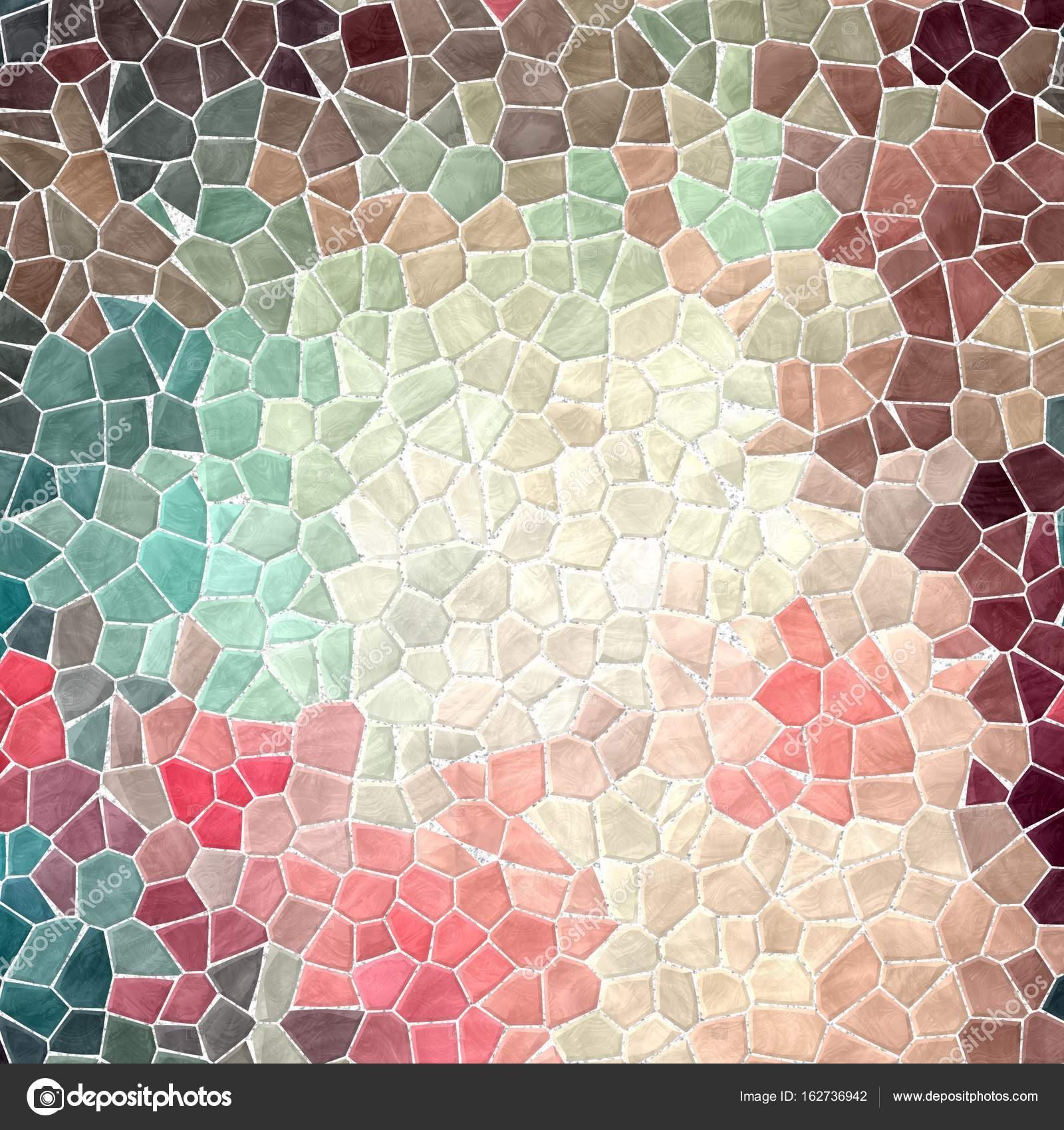 Abstrakcyjny Charakter Marmurowe Mozaiki Kamienne Plastikowe