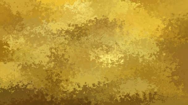 Riepilogo animato tinto colori dello sfondo senza soluzione di continuità loop video - oro, beige, giallo e marrone