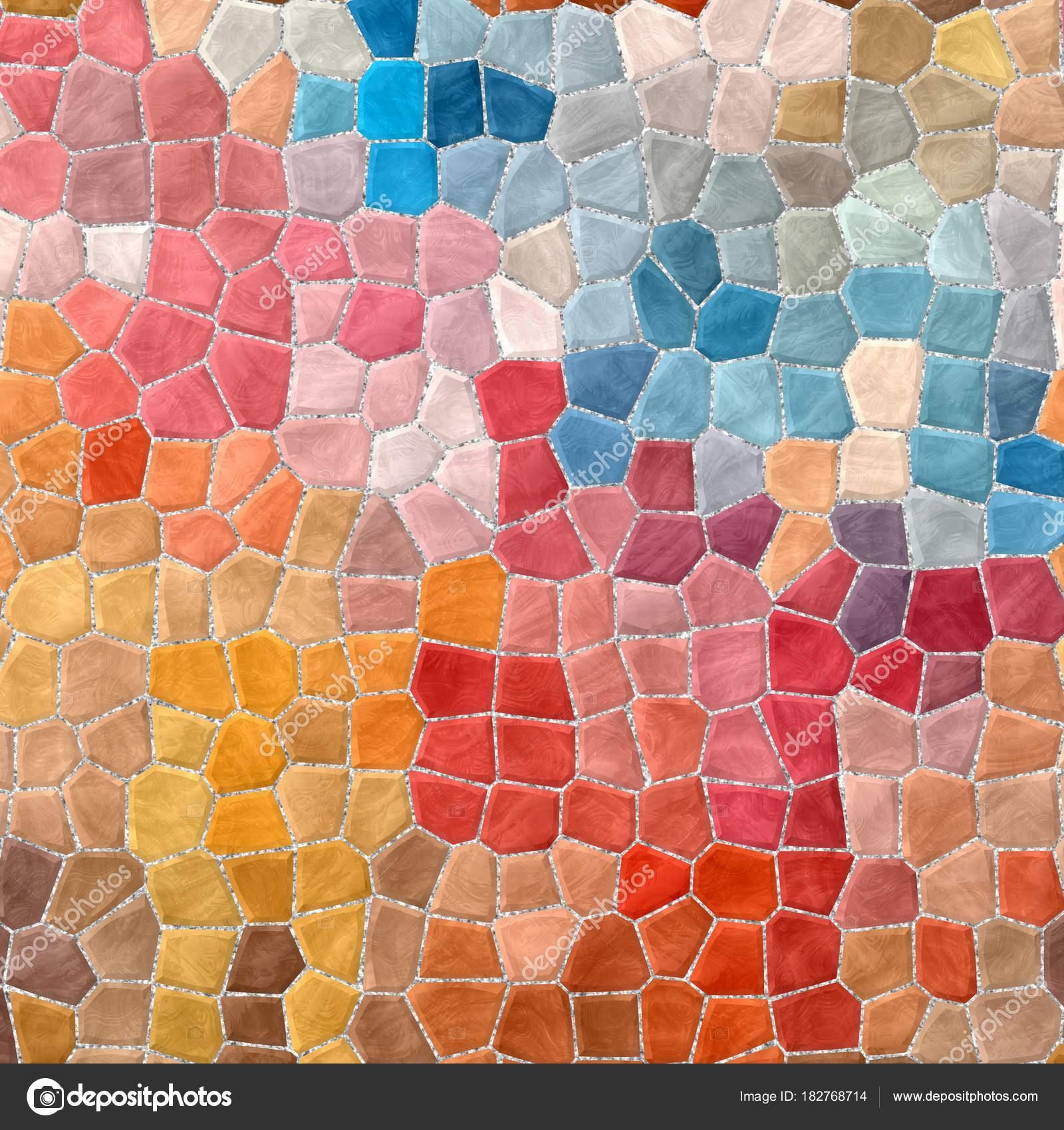 Abstrakte Natur Kunststoff Steinigen Marmormosaik Fliesen Textur