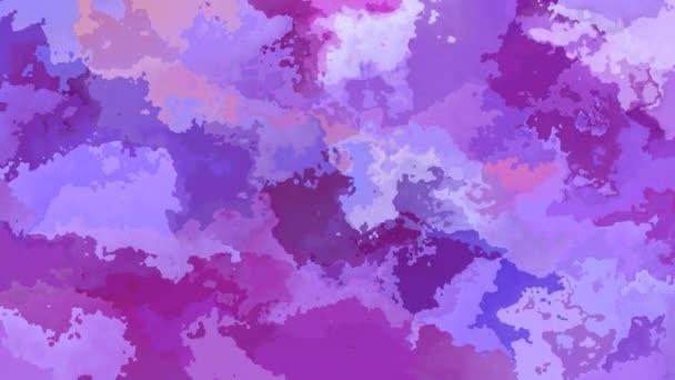 abstraktní, animované obarví pozadí bezešvé smyčka video - vytvoří efekt vodových barev - lavender purple fialová barva