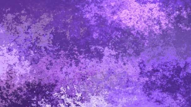 abstraktní, animované obarví pozadí bezešvé smyčka video - vytvoří efekt vodových barev - světle levandulová fialová a ultra fialová barva