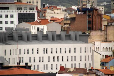 Urban view in the city of Bilbao