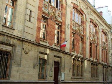 "Картина, постер, плакат, фотообои ""Фасад классического жилого квартала в Париже"", артикул 366244080"
