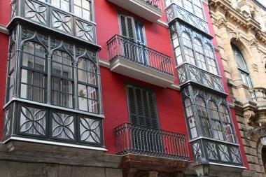 Building in a neighborhood of Bilbao