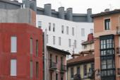 Városi kilátás a város Bilbao