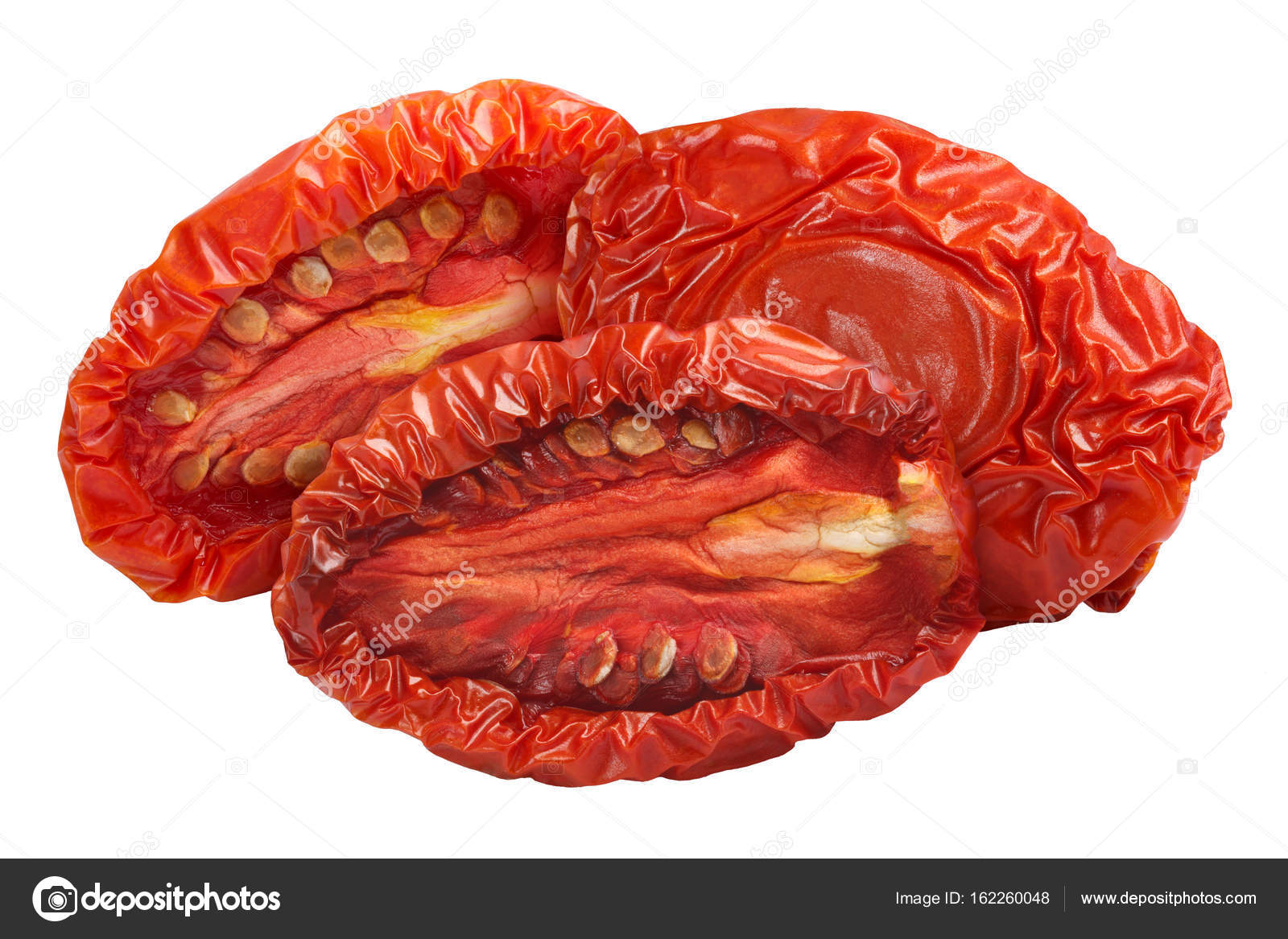 Sundried Tomato Halves Paths Stock Photo Maxsol7 162260048