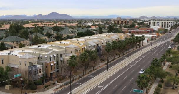 4k Ultrahd kilátás a belvárosi Phoenix, Arizona
