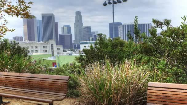4k Ultrahd Timelapse z Los Angeles skyline