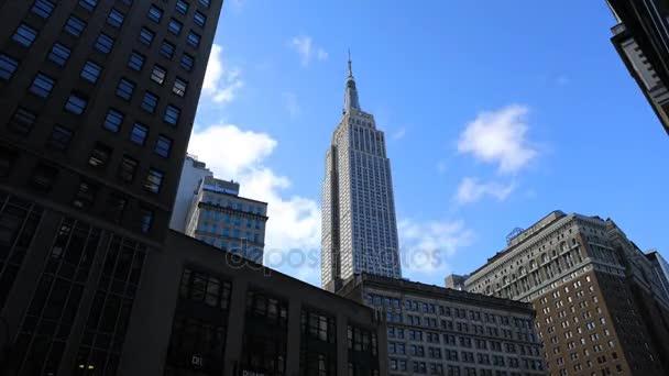 4k Ultrahd Timelapse midtown Manhattan oblast