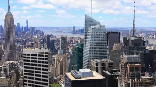 4 k Ultrahd Timelapse anténu z midtown Manhattan
