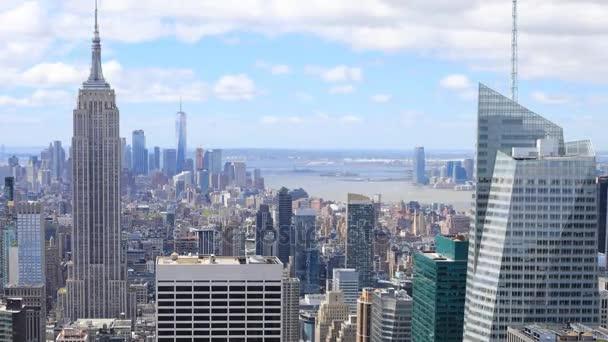 4 k Ultrahd Timelapse anténu Manhattan, New York