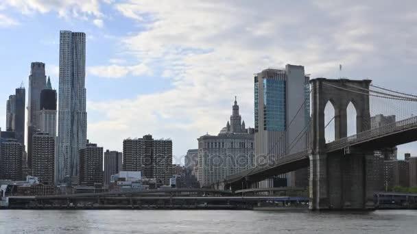 4k ultrahd Zeitraffer von manhattan in New York