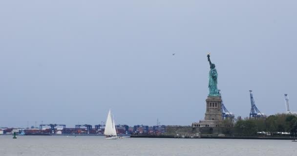 4k Ultrahd Szabadság-szobor le Manhattan