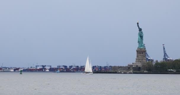 4k Ultrahd Szabadság-szobor le Manhattan, New York