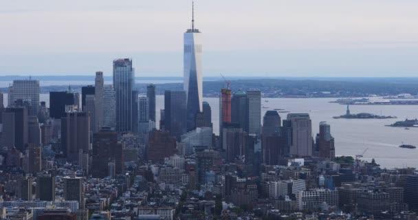 4k Ultrahd pohled na dolním Manhattanu oblasti