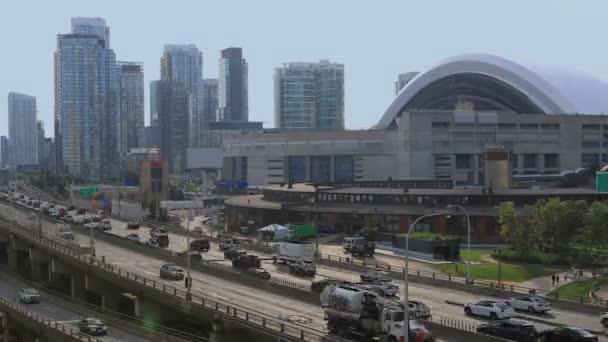 4 k Ultrahd Timelapse által a Gardiner gyorsforgalmi Torontóban, Kanadában
