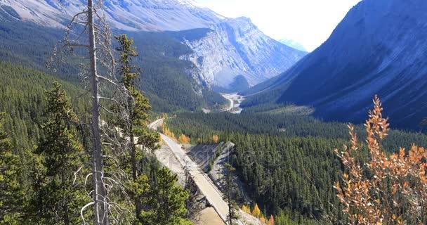 Ledovcových dálnice přes Skalisté hory 4k