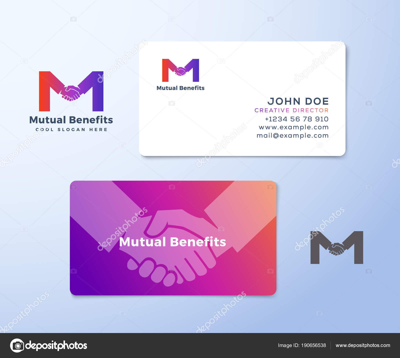 Mutual Benefit Abstract Vector Sign, Symbol or Logo Template and ...