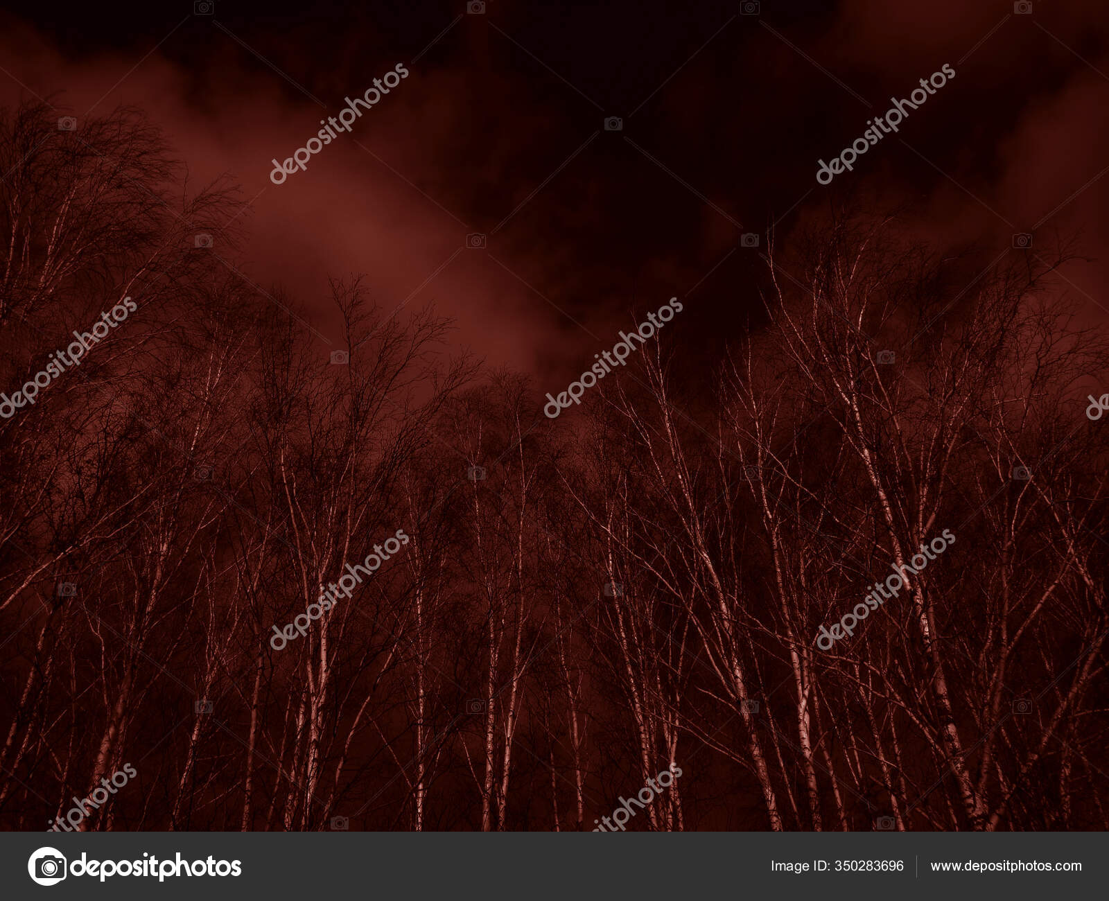 depositphotos 350283696 stock photo dark red background scary dramatic