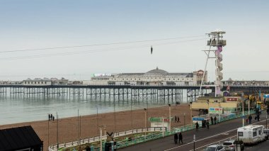 Brighton city sea front UK.