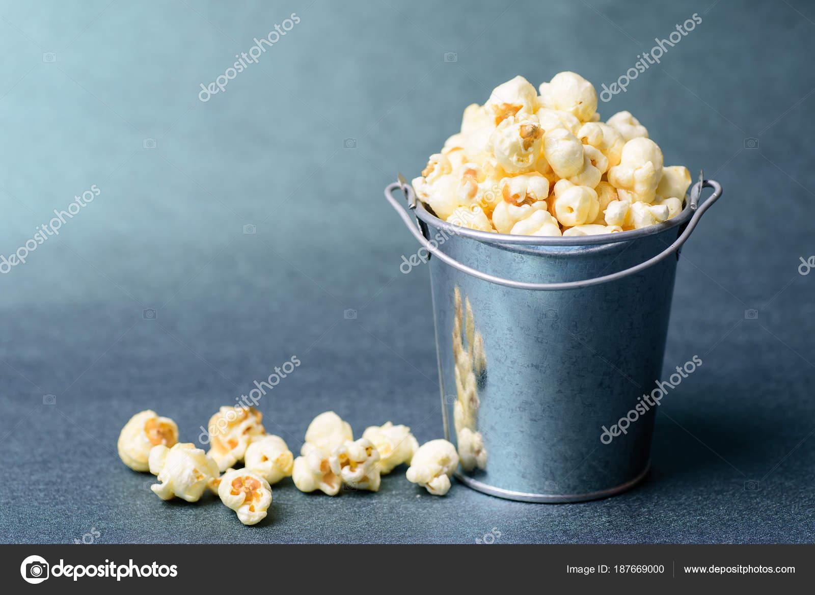 Caramel Popcorn Bucket Delicious Snack Stock Photo C Nungning20 187669000